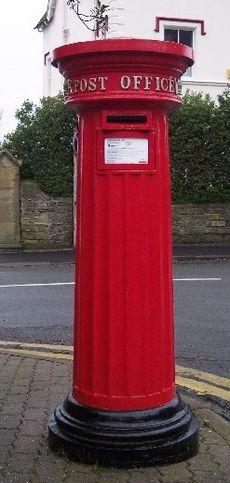 Pillar box Great Malvern