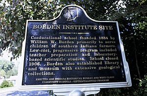 Borden Institute Historical Marker