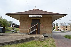 Catlettsburg C&O depot