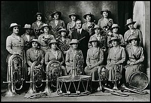 Clare Girls Band 1914