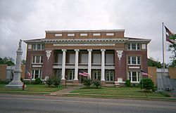 Clarke County Courthouse in Quitman
