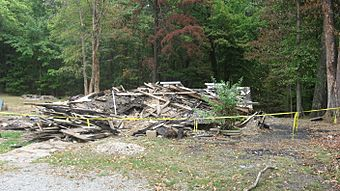 Grandview Apostolic Church rubble pile from southwest.jpg