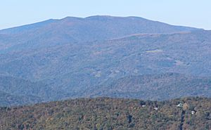Grassy Ridge Bald from Grandfather Mtn, Oct 2016