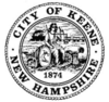 Official seal of Keene, New Hampshire