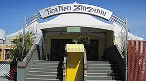 Teatro ZinZanni SF main entrance 2