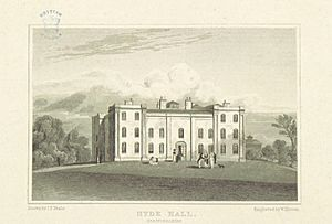 Neale(1818) p2.134 - Hyde Hall, Hertfordshire
