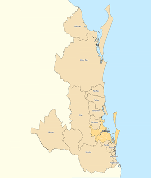 Outside Brisbane divisions overview 2010