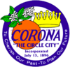 Official seal of Corona, California