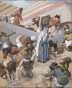 Tissot The Gathering of the Manna (color)