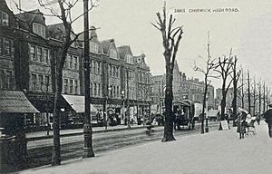 Chiswick High Road postcard