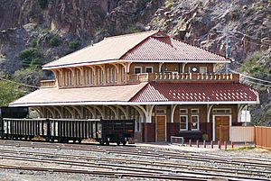 Clifton, AZ train station