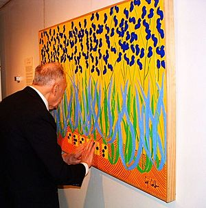 Guy Cobb Braille Painting