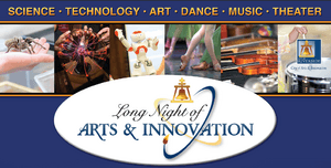 Long Night of Arts & Innovation-Logo & pictures