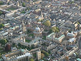 Oxford City Birdseye
