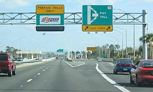 SR 417 University Toll Plaza
