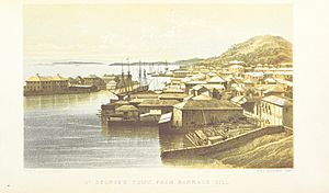 St. George's Town, from Barrack Hill