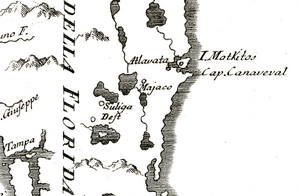 Volusia County Map 1763