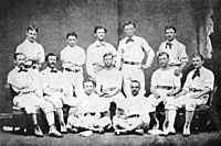 1874 Philadelphia Athletics baseball