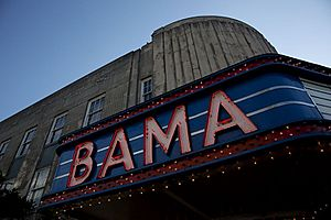 Bama Theatre Sign 02