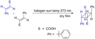 Cinnamic Acid CycloAddition