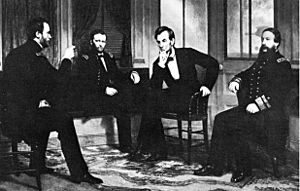 Lincoln and his advisors