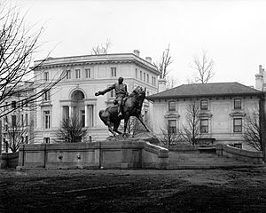 Sheridan Statue, Washington, D.C. npcc
