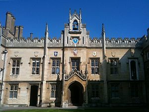 Sidney Sussex Chapel