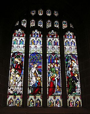 St Andrews Sydney windows E4 Empty tomb