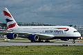 British Airways A380-800 F-WWSC