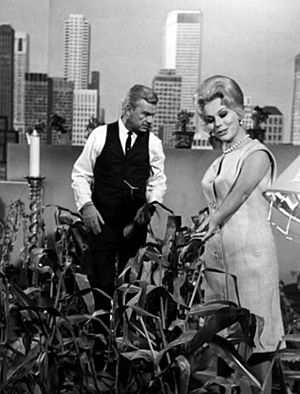 Eddie Albert Eva Gabor Green Acres 1965