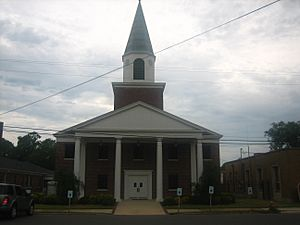 First Baptist Church, Coushatta, LA IMG 1659