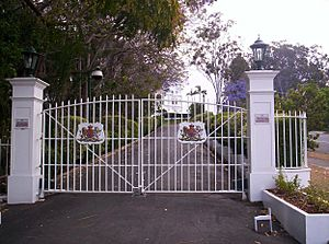 Government House Gates