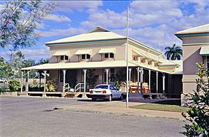 Mining Warden's Court (former), from N (1997), Charters Towers Courthouse