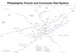 Philadelphia Transit and Commuter Rail System