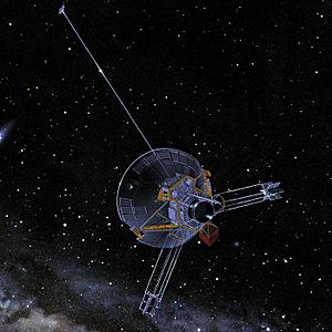 Pioneer 10-11 spacecraft