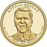 Ronald Reagan Coin