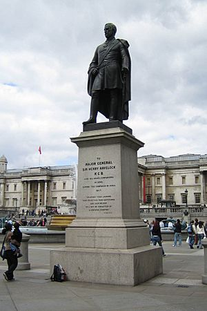 Sir Henry Havelock Statue Trafalgar Square 2006-04-17