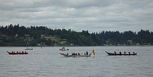 Tribal Canoe Journeys - Paddle to Squaxin 2012