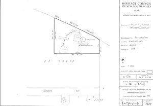 595 - Weatherboard Inn Archaeological Site - PCO Plan Number 595 (5045260p1).jpg