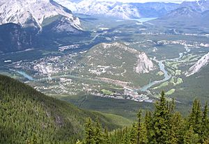 Banff from Sulphur Mtn 2005