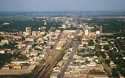 Fargo ND Downtown overview