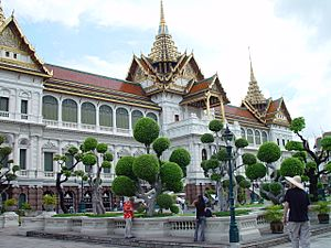 Grand Palace in Bangkok - Chakri Mahaprasad Hall
