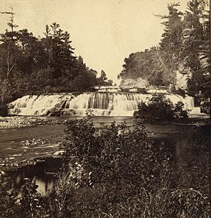Junction Falls, Kinnickinnic River, River Falls, Wisconsins