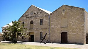 Maritime Museum Shipwreck Galleries, Fremantle, Western Australia