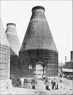 PSM V40 D330 Three kilns at the perth amboy terra cotta company