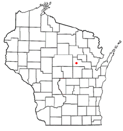 Location of Morris, Wisconsin