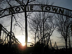 Movietown Great Adventure opening day