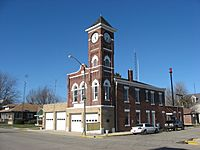 Municipal building in Redkey