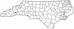 Location of Fletcher, North Carolina