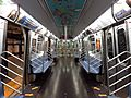 NYC Subway R160 9160 Interior (Retrofitted with R211 features)